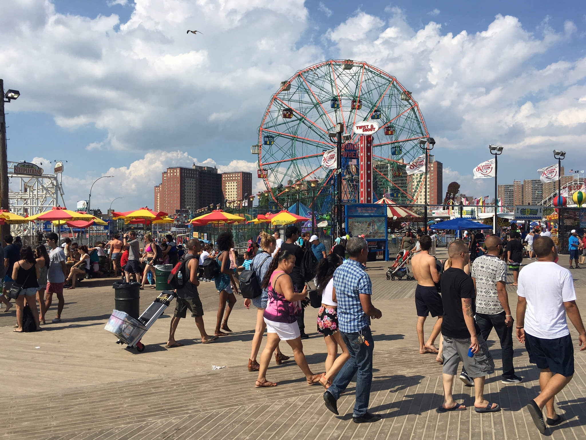 Coney Island Brooklyn Summer 2016