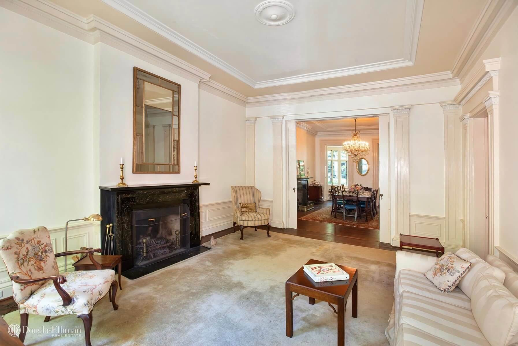 Brownstone for sale Brooklyn Heights 261 Henry Street
